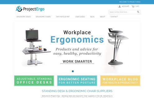 Ergonomic desks and furniture - Project Ergo