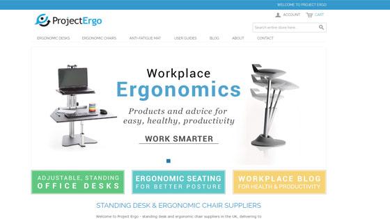 Project Ergo - UK ergonomic furniture suppliers in London